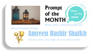 My Badge for winning the Blogging Challenge on Writers' Ezine