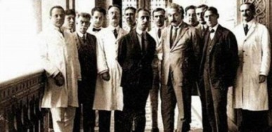 Scientists in the early 20th century, Albert Einstein is one of them