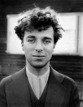 Charlie Chaplin at age 27, 1916