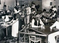 Disneyland Employee Cafeteria in 1961