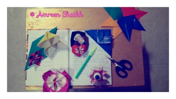 Origami by Me :)