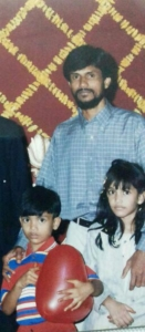 Me, My Brother & Papa :)
