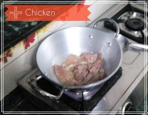 chicken after butter
