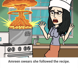 she followed the recipe