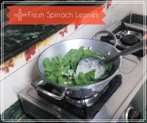 spinach after cream