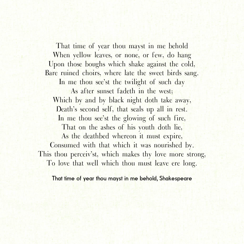 How to inspire yourself for a beautiful New Year 2016 (Shakespeare ...