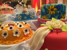 Cakes at the Rich Gourmet Guide Event