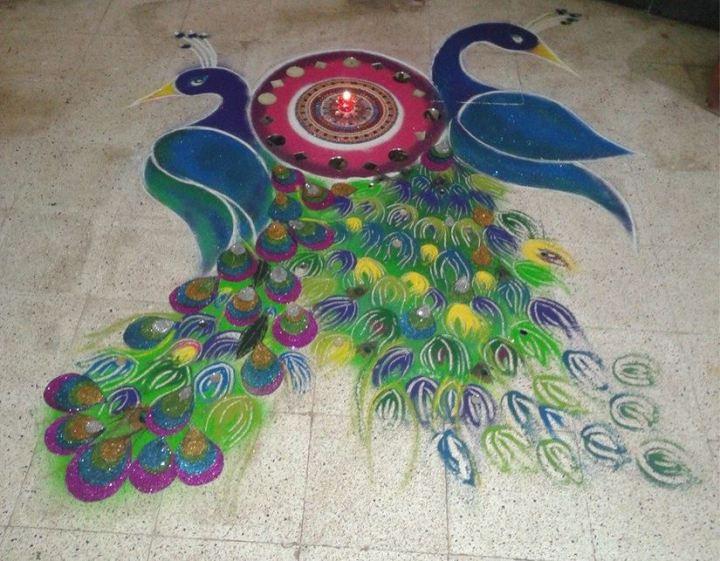 free-hand-rangoli-design